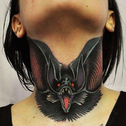 Throat Tattoos 35