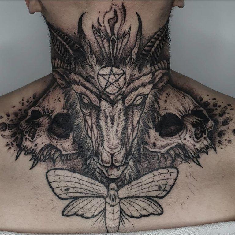 Throat Tattoos 36