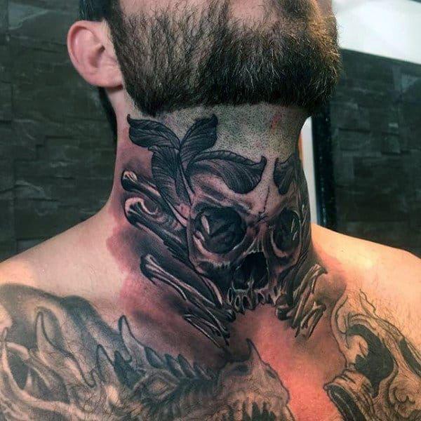 Throat Tattoos 37