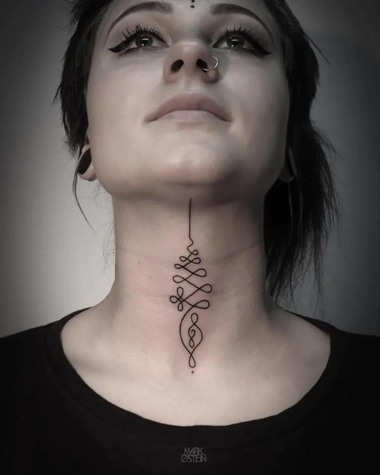 Throat Tattoos 4