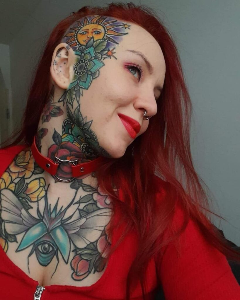 Throat Tattoos 43