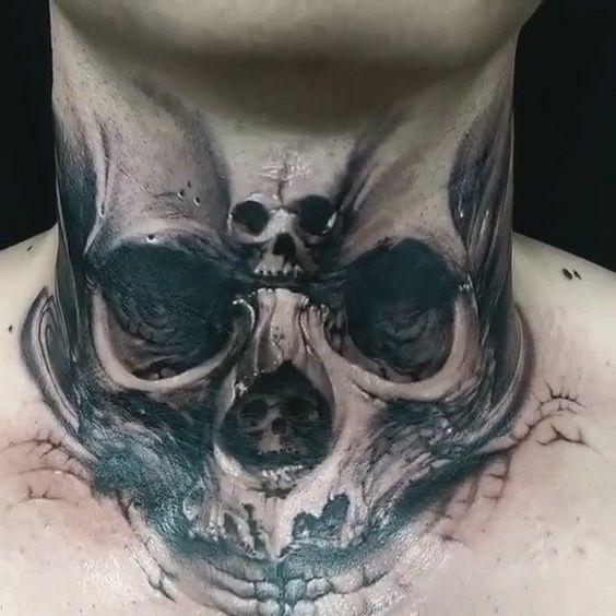 Throat Tattoos 49