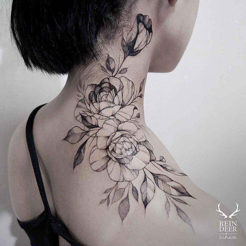 Throat Tattoos 52