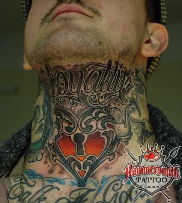 Throat Tattoos 56