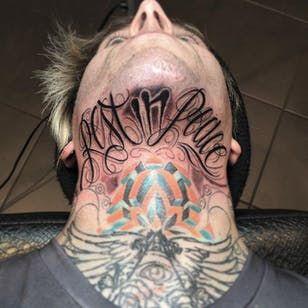 Throat Tattoos 57