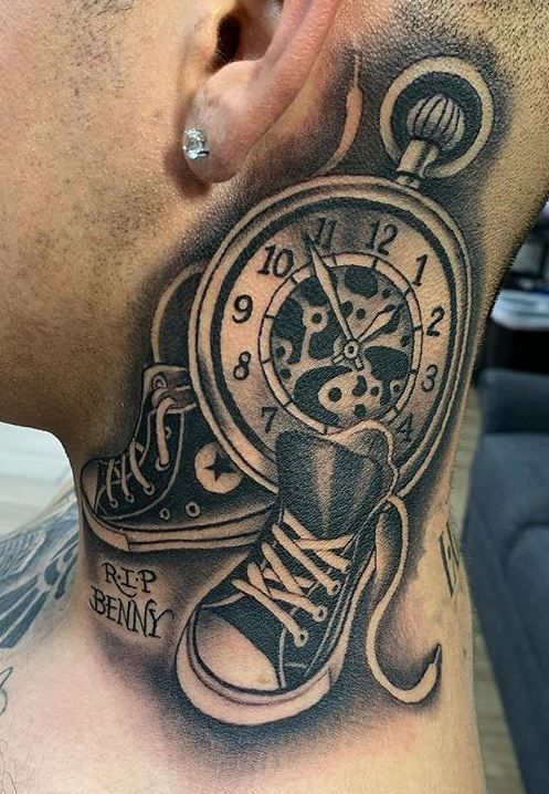 Throat Tattoos 6