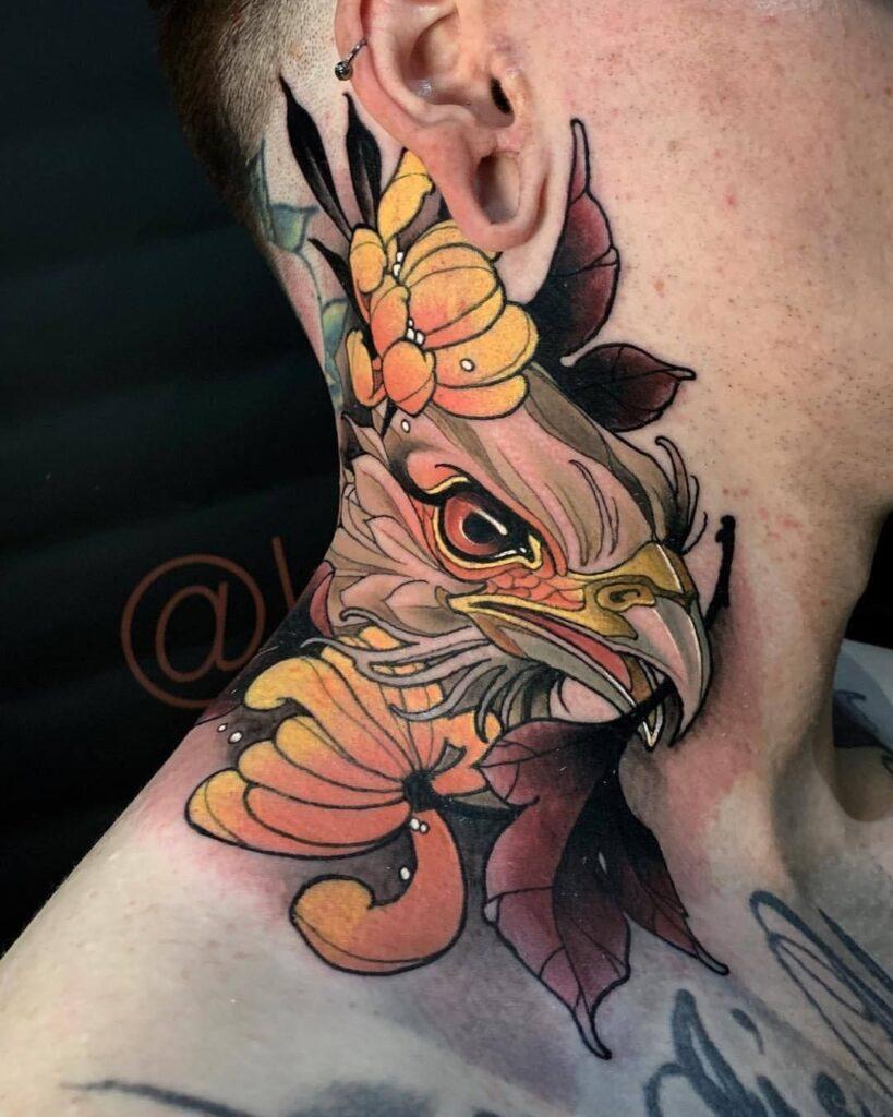 Throat Tattoos 62