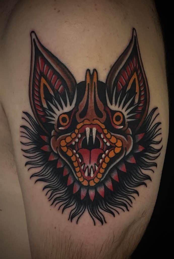 Throat Tattoos 66