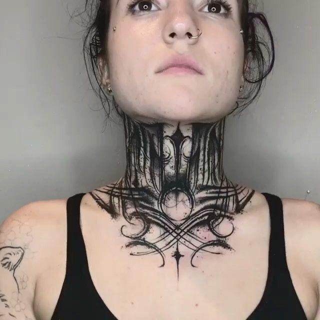 Throat Tattoos 69