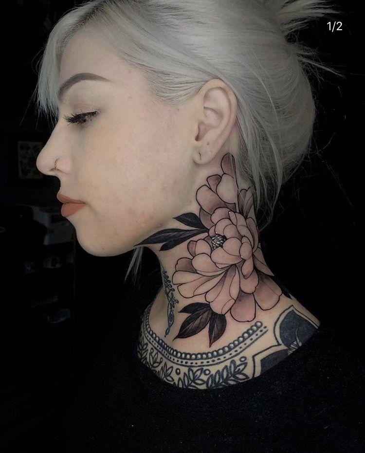Throat Tattoos 70