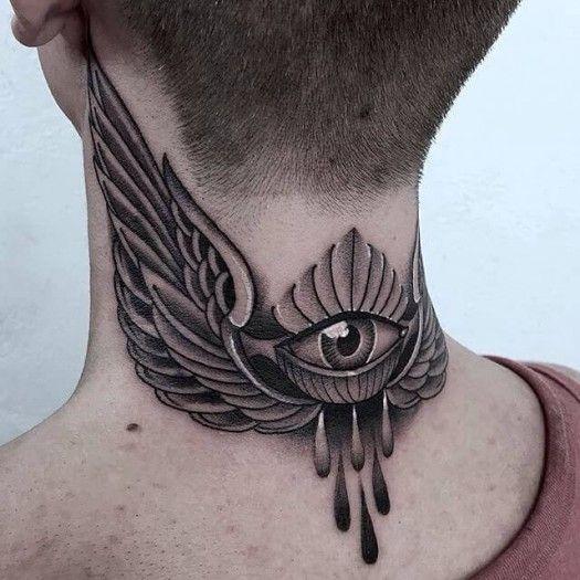 Throat Tattoos 80