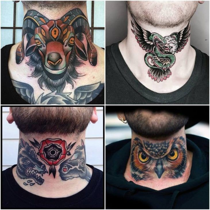 Throat Tattoos 81