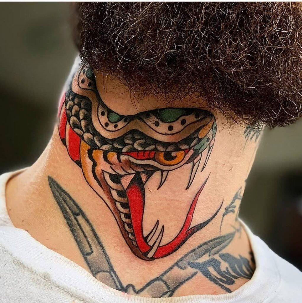 Throat Tattoos 82