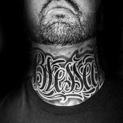 Throat Tattoos 83