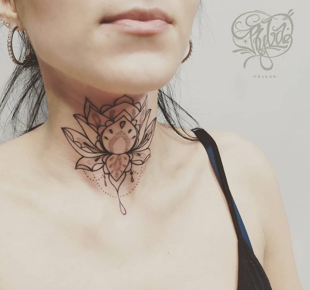 Throat Tattoos 85