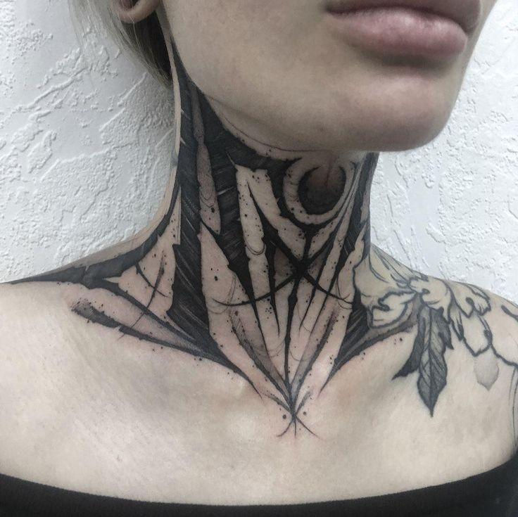 Throat Tattoos 86