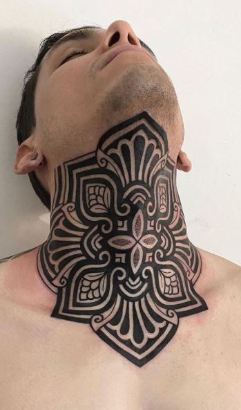 Throat Tattoos 89