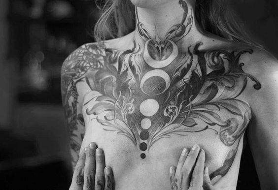 Throat Tattoos 90