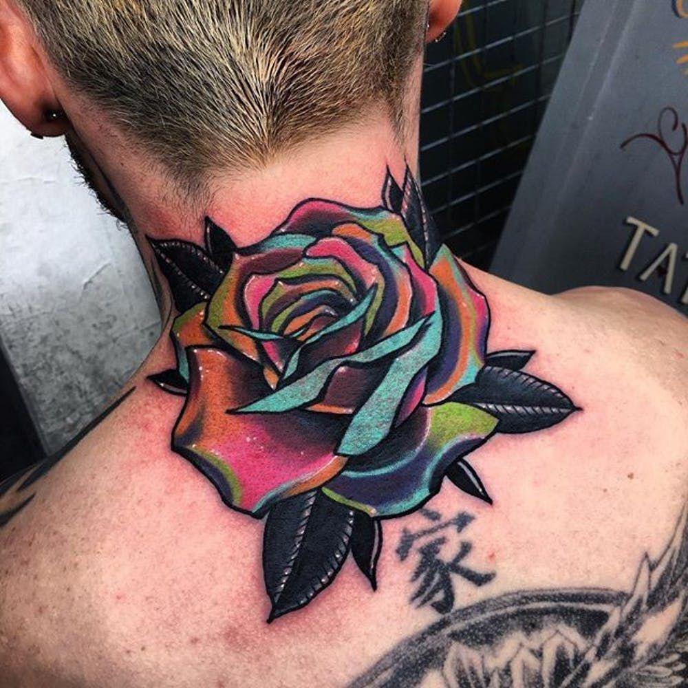 Throat Tattoos 91