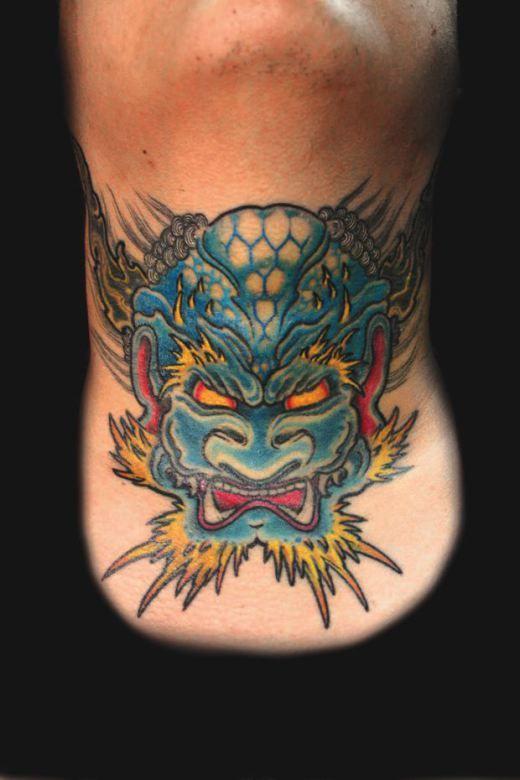 Throat Tattoos 94