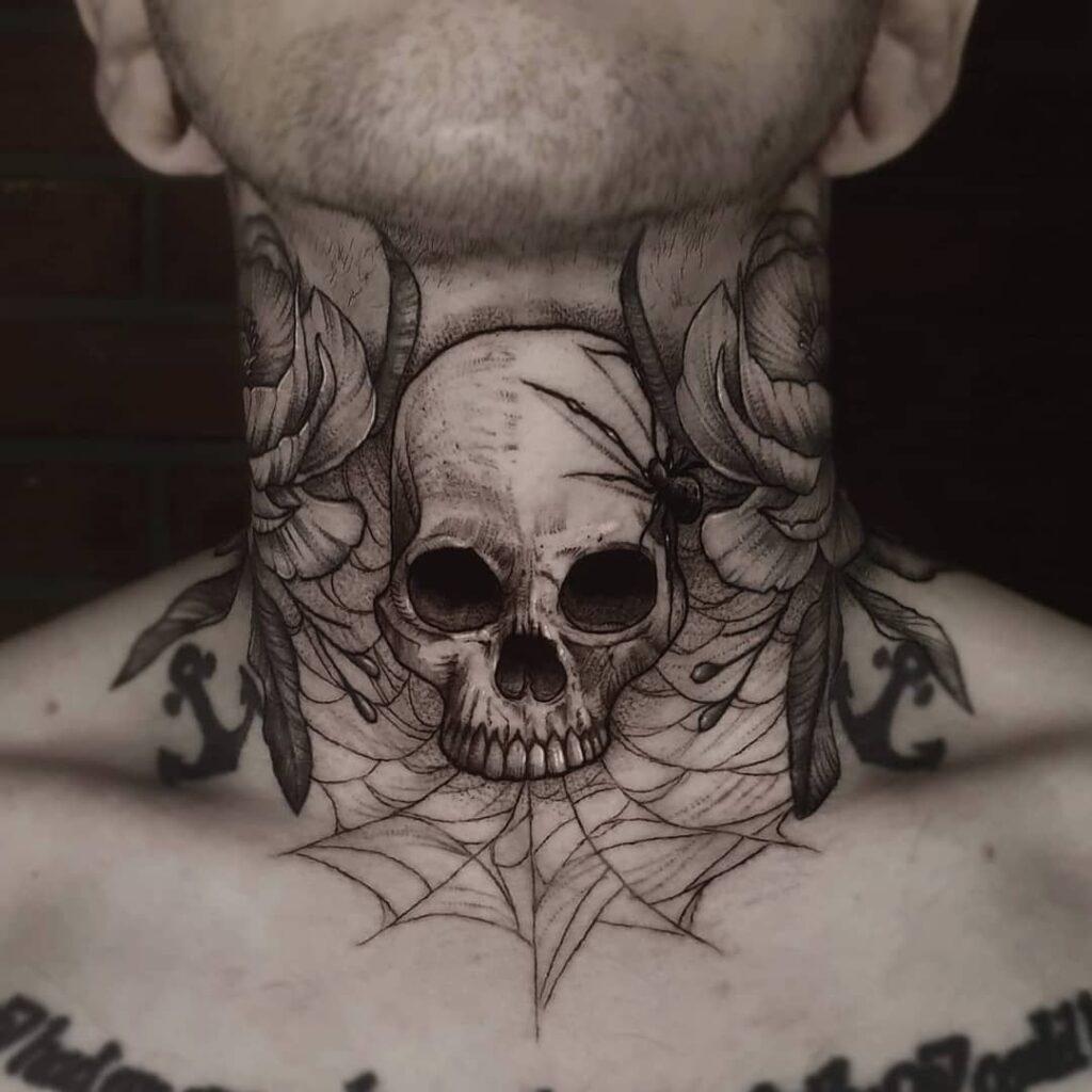 Throat Tattoos 99